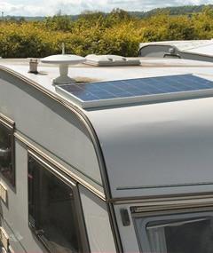 caravan-zonnepaneel