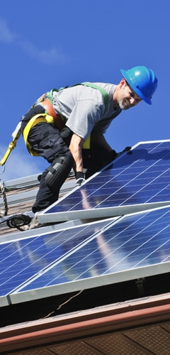 Verhuizen van zonnepanelen