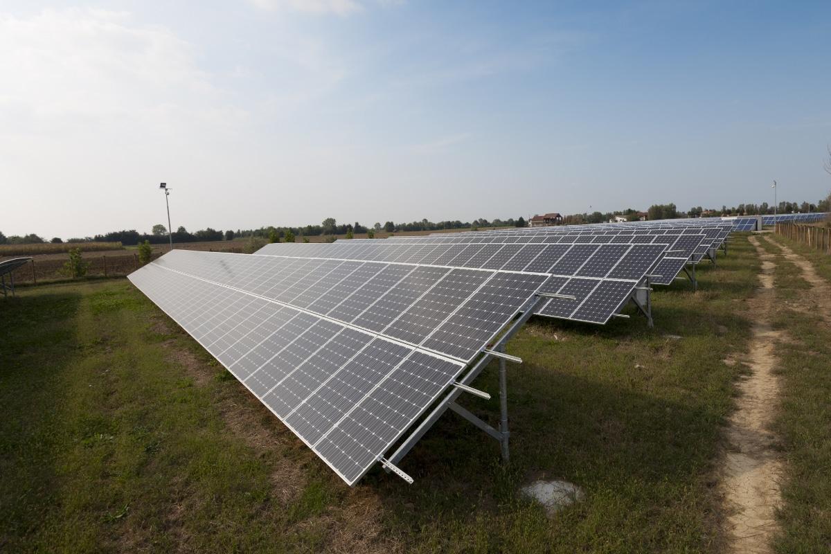de beste zonnepanelen op een rij