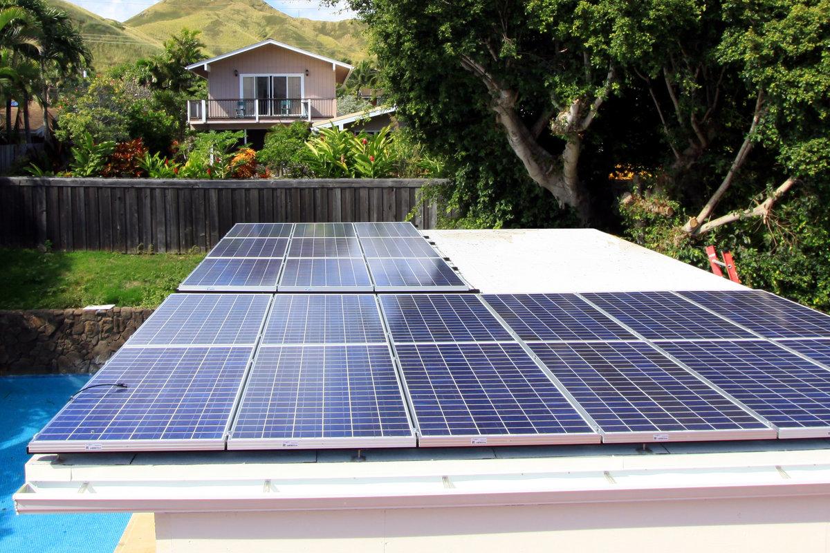 Zonnepanelen plat leggen u2013 dak te repareren