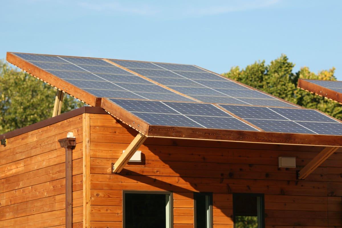 zonnepanelen voor tuinhuis