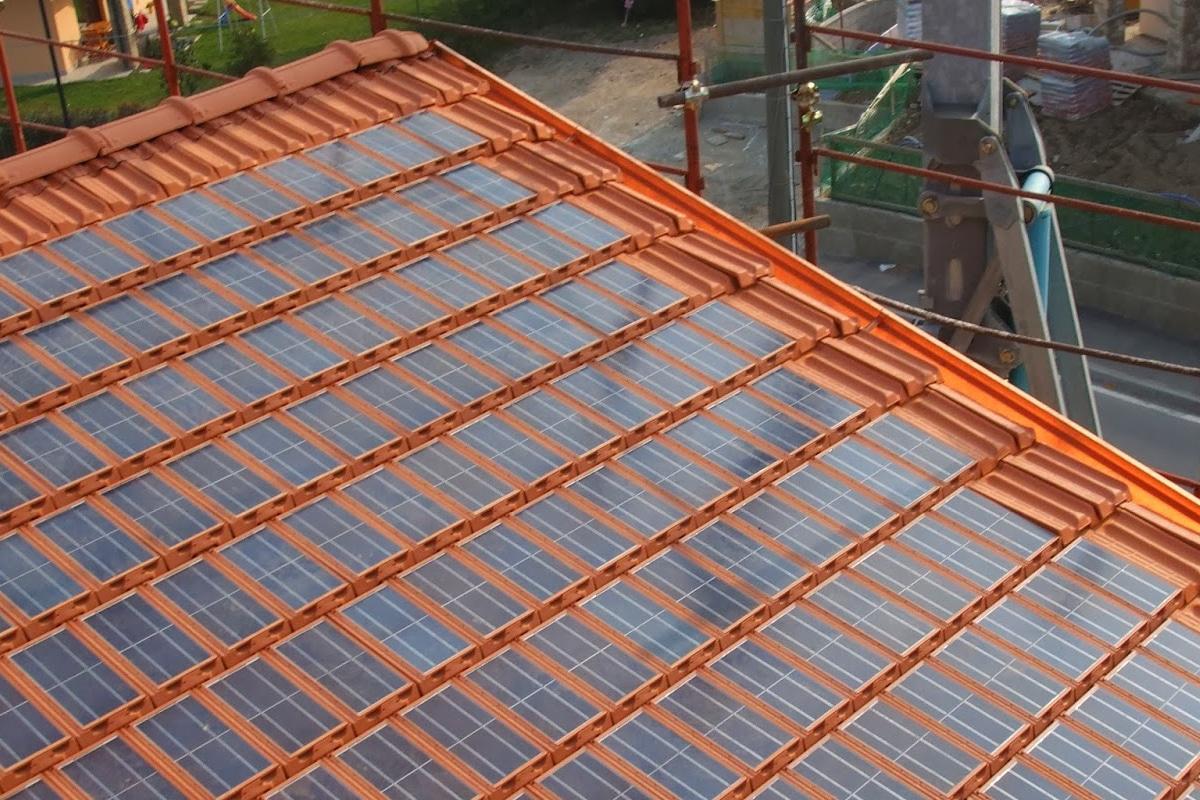 zonnepannen op nieuwbouw